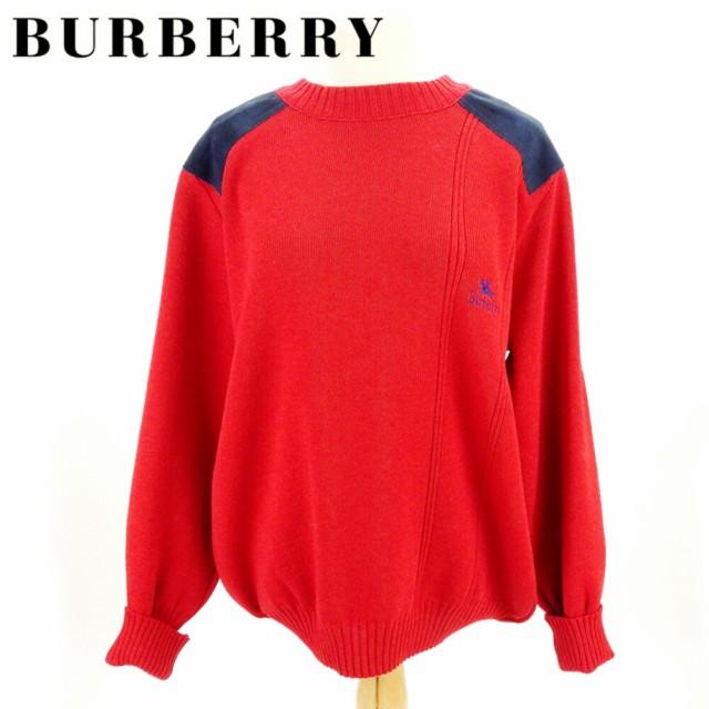 バーバリー Burberry ニット ホース刺繍 メンズ ...