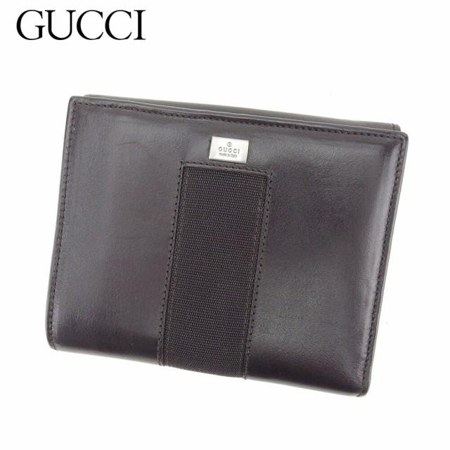 グッチ GUCCI Wホック財布 二つ折り 財布 レディ...