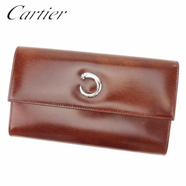 カルティエ Cartier 長財布 三つ折り 財布 レディ...