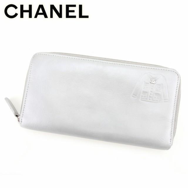 シャネル Chanel 財布 長財布 ジャケットモチーフ...