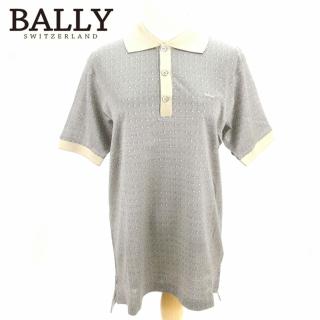 バリー Bally ポロシャツ B柄 メンズ 中古 T8185