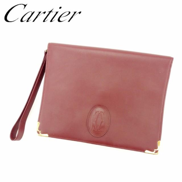 カルティエ Cartier クラッチバッグ セカンドバッ...