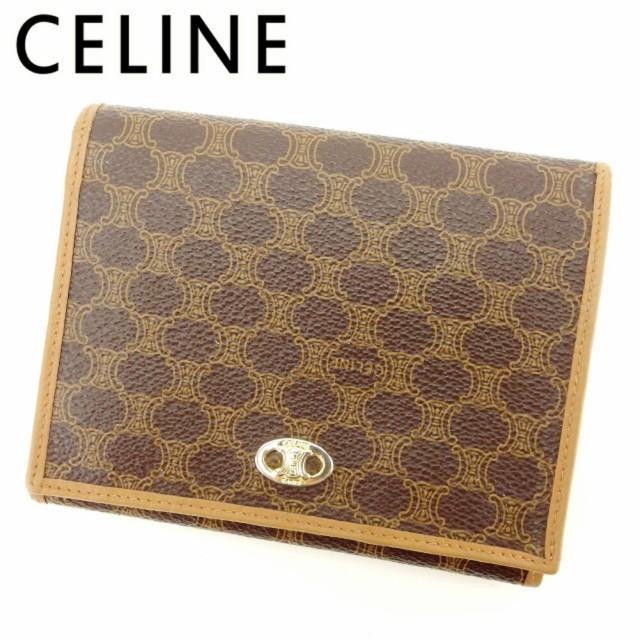 セリーヌ CELINE がま口 財布 二つ折り 財布 レデ...