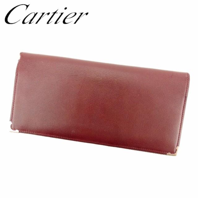 カルティエ Cartier 長札入れ 長財布 レディース ...
