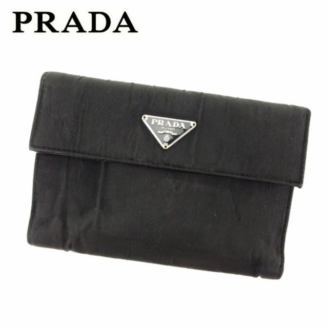 プラダ PRADA 三つ折り 財布 二つ折り 財布 レデ...