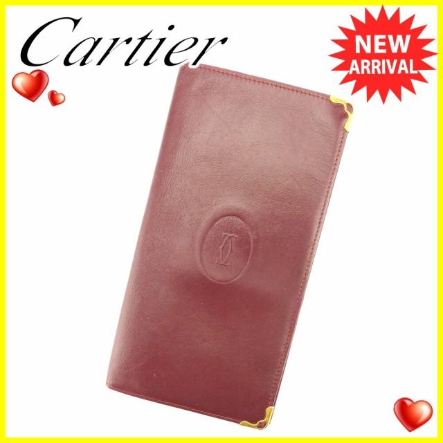 カルティエ Cartier 長札入れ 札入れ レディース ...