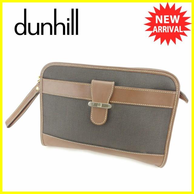 ダンヒル dunhill クラッチバッグ セカンドバッグ...