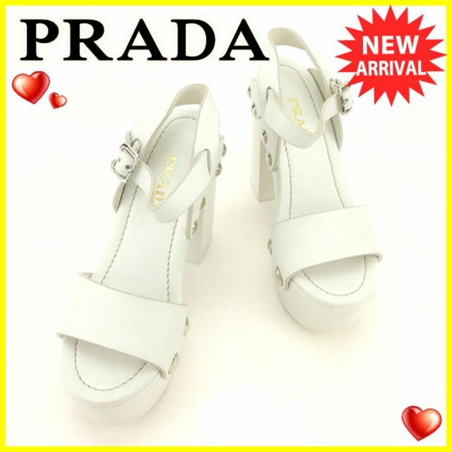 プラダ PRADA サンダル 靴 シューズ レディース #...
