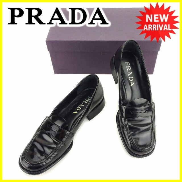 プラダ PRADA ローファー シューズ 靴 レディース...