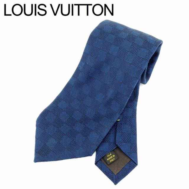 ルイ ヴィトン Louis Vuitton ネクタイ メンズ ダ...