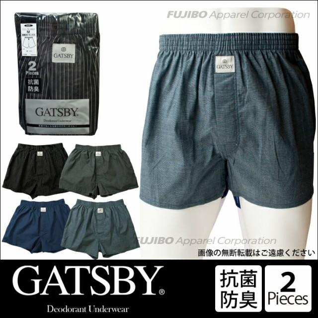 2枚組 GATSBY 抗菌防臭 トランクス インナー メン...