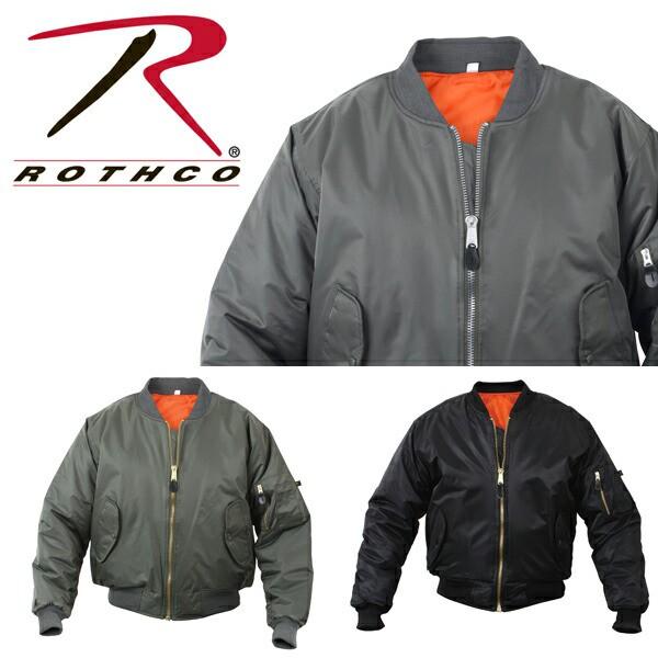 ROTHCO ロスコ MA-1 FLIGHT JACKET-100% NYLON ア...