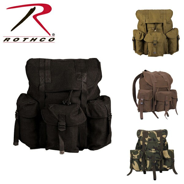 ROTHCO ロスコCANVAS G.I. STYLE SOFT PACK バッ...