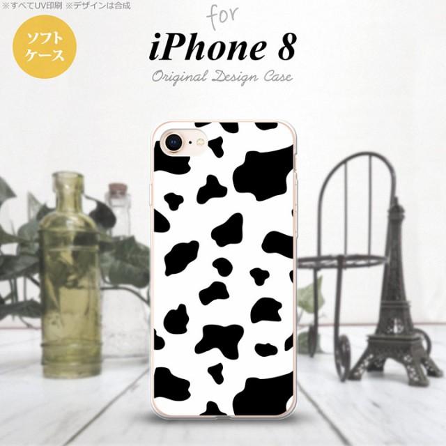 iPhone8 スマホケース カバー アイフォン8 牛柄  ...