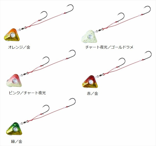 ダイワ 紅牙遊動テンヤ+SS 8 赤/金