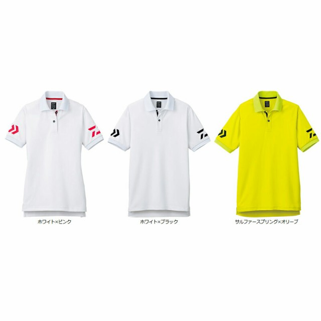 ダイワ DE−7906 半袖ポロシャツ