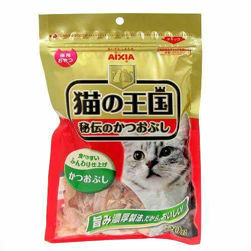 アイシア 猫の王国 秘伝のかつおぶし 20g ...