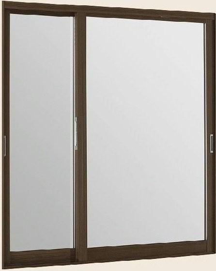 インプラス ウッド 引違い窓 変則2枚建 単板ガラ...