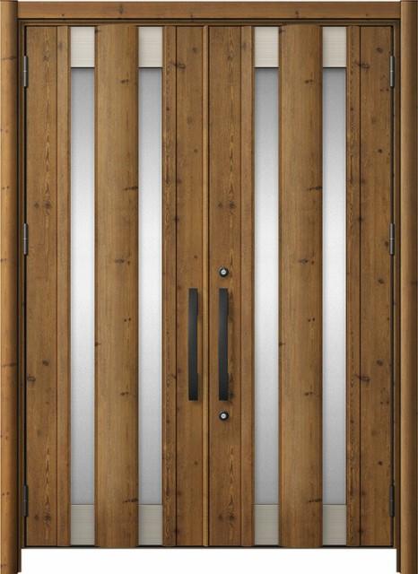 玄関ドア リシェント3 アルミ仕様  C14N型 両開き...