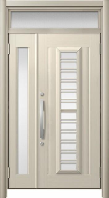 玄関ドア リシェント3 アルミ仕様 ランマ付 C83N...