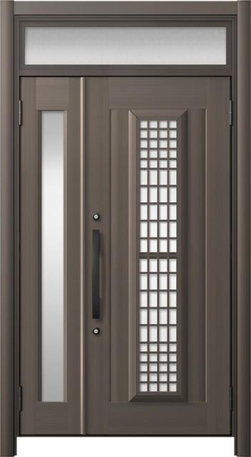 玄関ドア リシェント3 アルミ仕様 ランマ付 C84N...