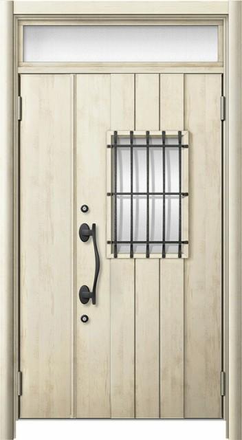 玄関ドア リシェント3 断熱仕様 ランマ付 K2 D44...