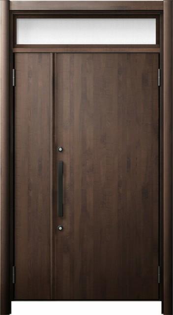 玄関ドア リシェント3 断熱仕様 ランマ付 K2 M17...