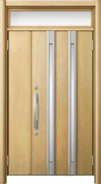 玄関ドア リシェント3 断熱仕様 ランマ付 K2 M24...
