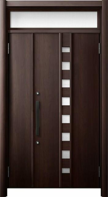 玄関ドア リシェント3 断熱仕様 ランマ付 K2 M28...