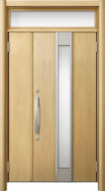 玄関ドア リシェント3 断熱仕様 ランマ付 K2 M77...