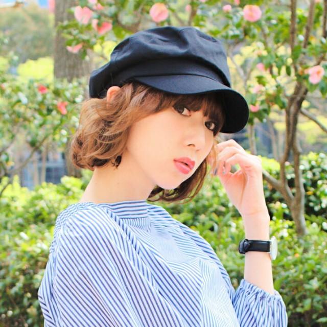 2個1000円引き/帽子/シンプルマリンワークキャッ...