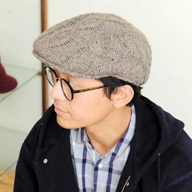 2個1000円引き/帽子/ケーブルハンチング/メンズレ...