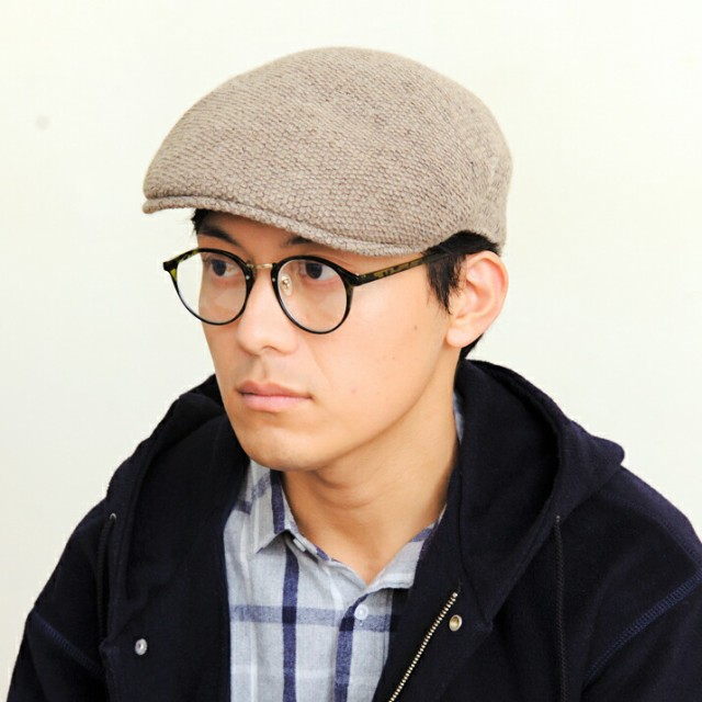 2個1000円引き/帽子/ボリュームニットハンチング ...