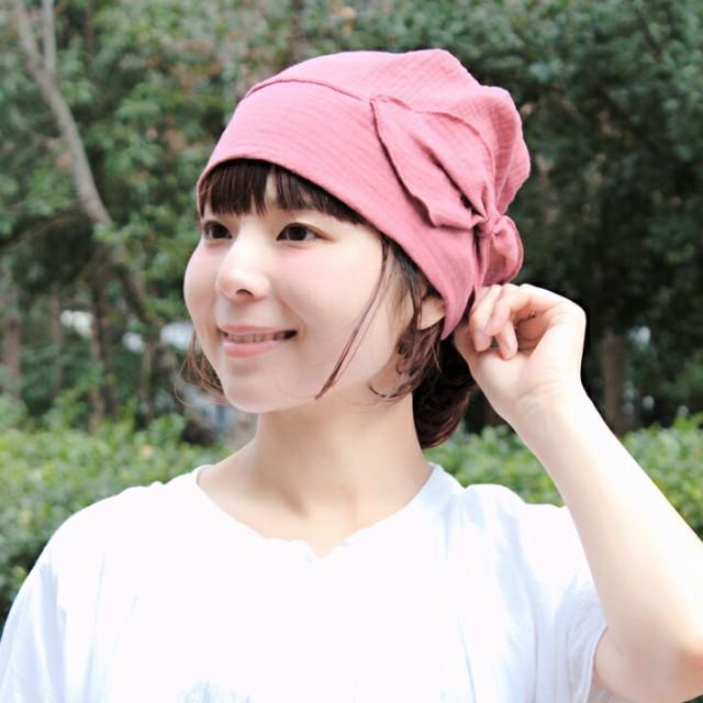 2個1000円引き/帽子/リボン付きライトニット帽/レ...