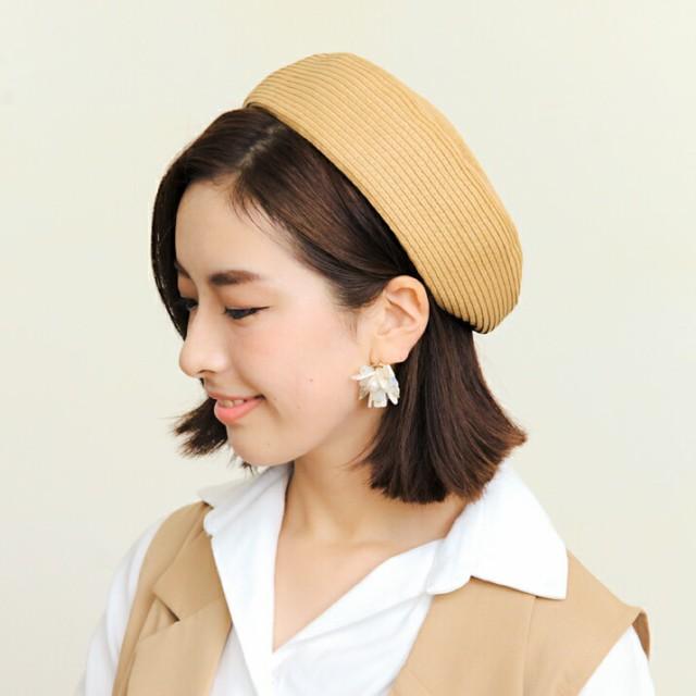 2個1000円引き/帽子/ケーブル編みニットベレー帽/...