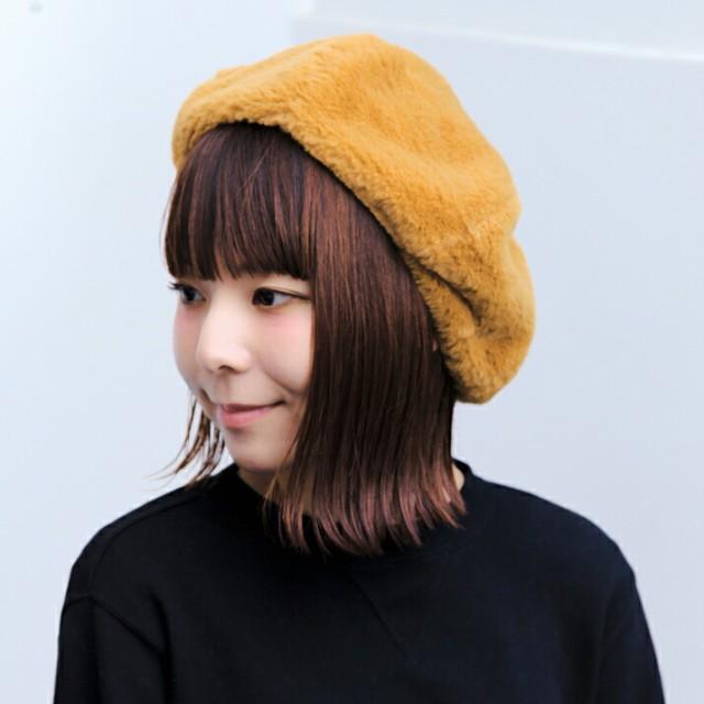 2個1000円引き/帽子/フェイクファーベレー帽/メン...