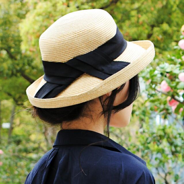 2個1000円引き/帽子/細ブレードコットンリボン巻...