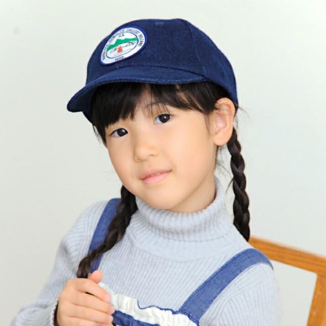 2個1000円引き/帽子/KIDSM.Kワッペンキャップ/キ...
