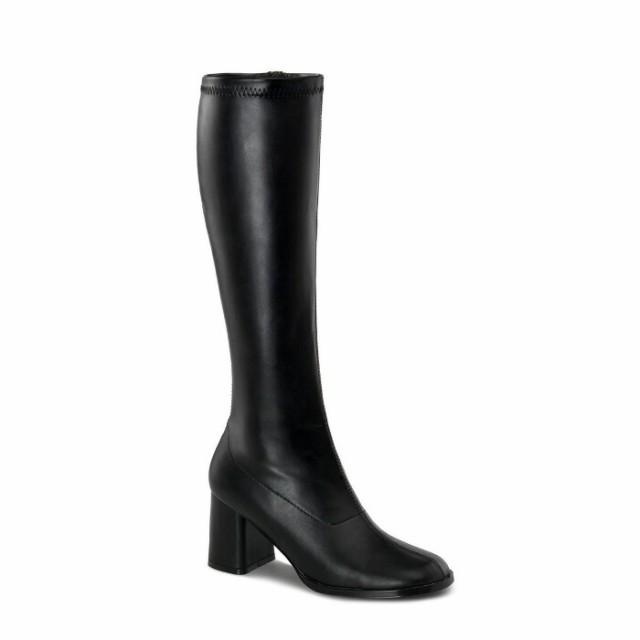 即納靴 コスプレ靴 薄厚底ロングブーツ 8cmヒール...