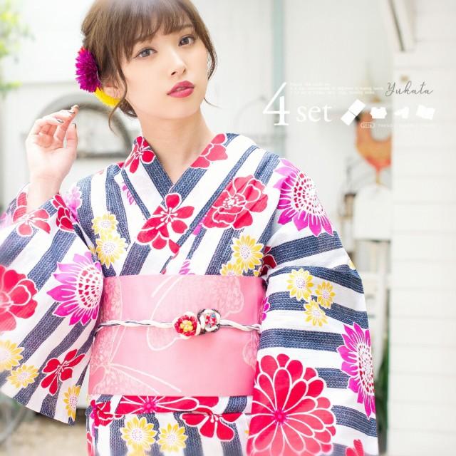 初心者OK!【送料無料】浴衣 レディース 2018年新...