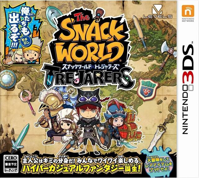 スナックワールド トレジャラーズ 3DS ソフト CTR...