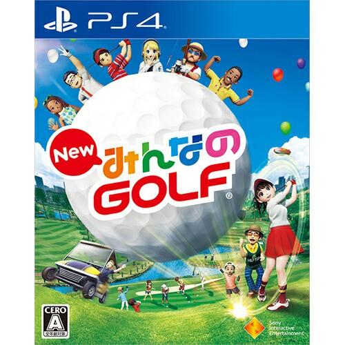 New みんなのGOLF 【中古】 PS4 ソフト PCJS-5002...