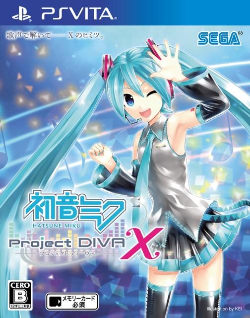 初音ミク Project DIVA X PSVita ソフト VLJM-352...