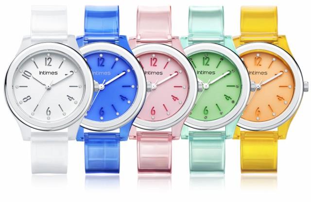 腕時計 レディース インタイムス 軽量 防水 かわ...