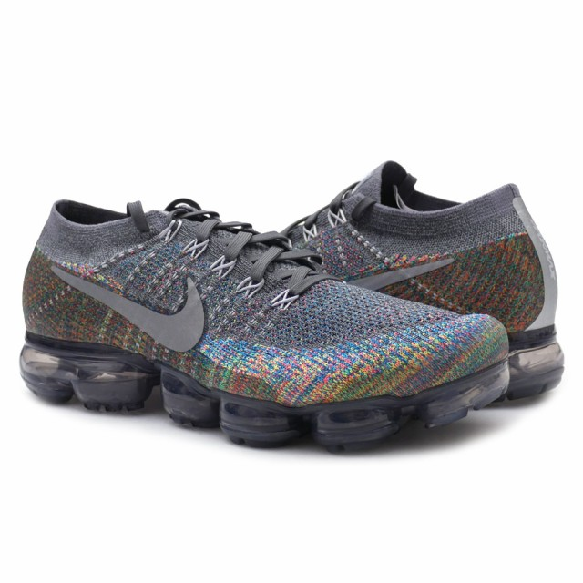 NIKE(ナイキ)  AIR VAPORMAX FLYKNIT DARK GREY/R...