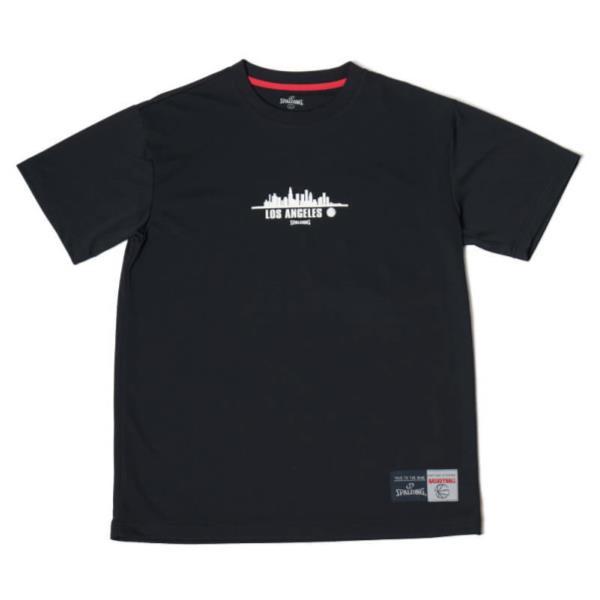 SMT180140-1000 Tシャツ-LA ブラック/1000 (SP)