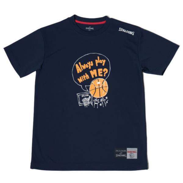 SMT180200-5400 Tシャツ-MESSAGE PLAY ネイビー/5...