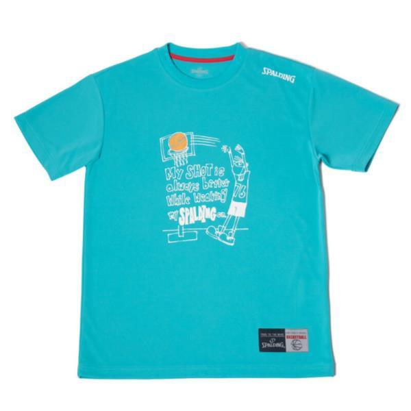 SMT180210-5600 Tシャツ-MESSAGE SHOT ターコイズ...