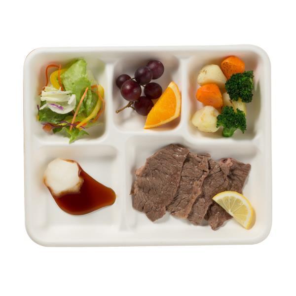 お食事プレート角 5P ( BD-662 / KA )