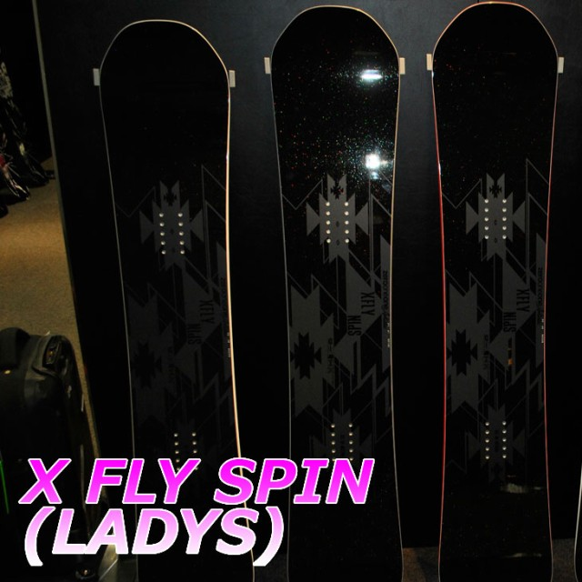 18-19 011 artistic X FLY SPIN  レディース ゼロ...